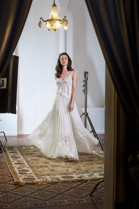 שמלת ג'ניס בסגנון בוהו שיק